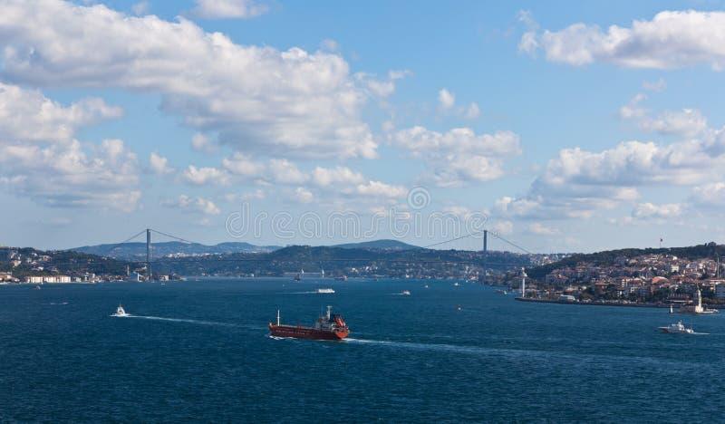 Vue du Bosporus images stock