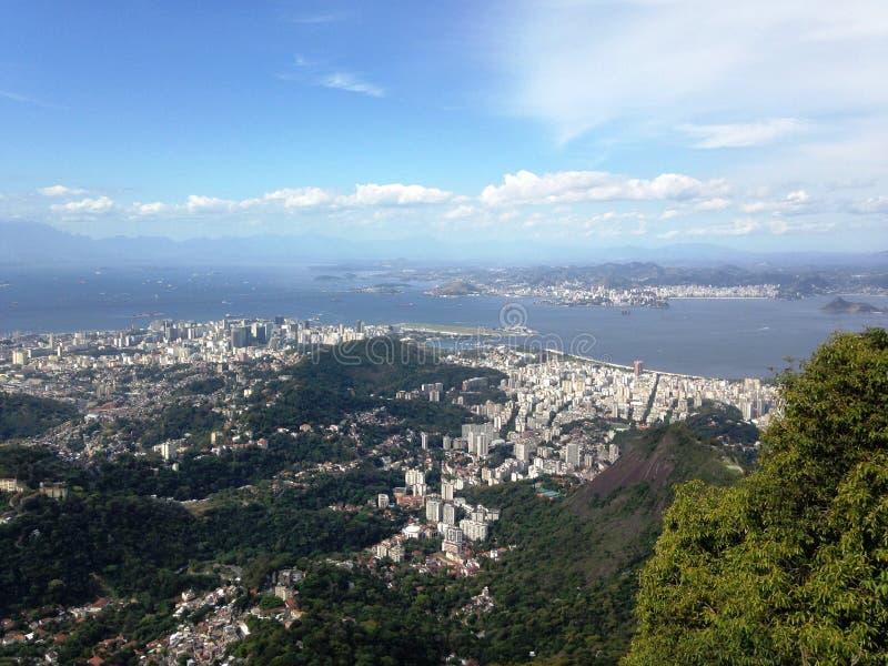 Download Vue du Brésil Rio photo stock. Image du beau, couleur - 45358804