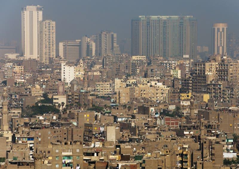 Vue du Caire central photo libre de droits