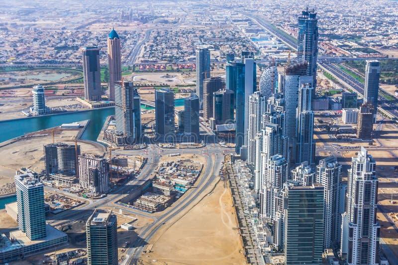 Dubaï du centre image stock