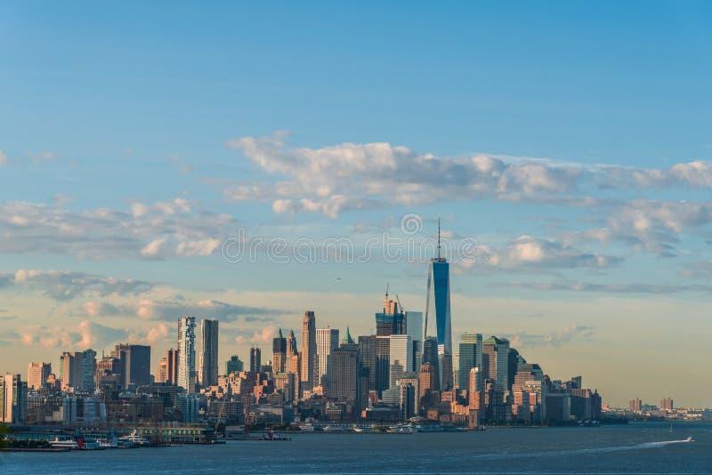Vue du centre de Manhattan images libres de droits