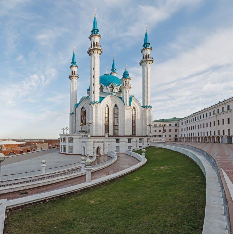 Vue du col-Sharif de cathédrale de mosquée de Kazan photographie stock