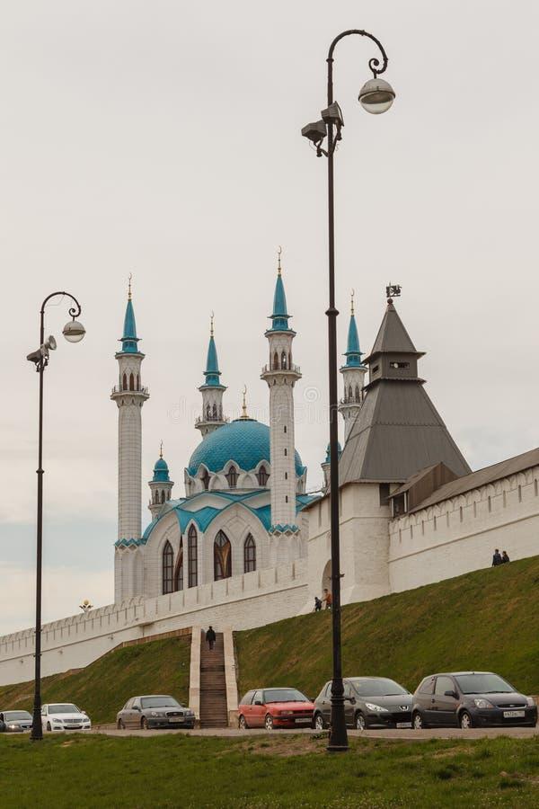 Vue du col-Sharif de Kazan Kremlin images stock