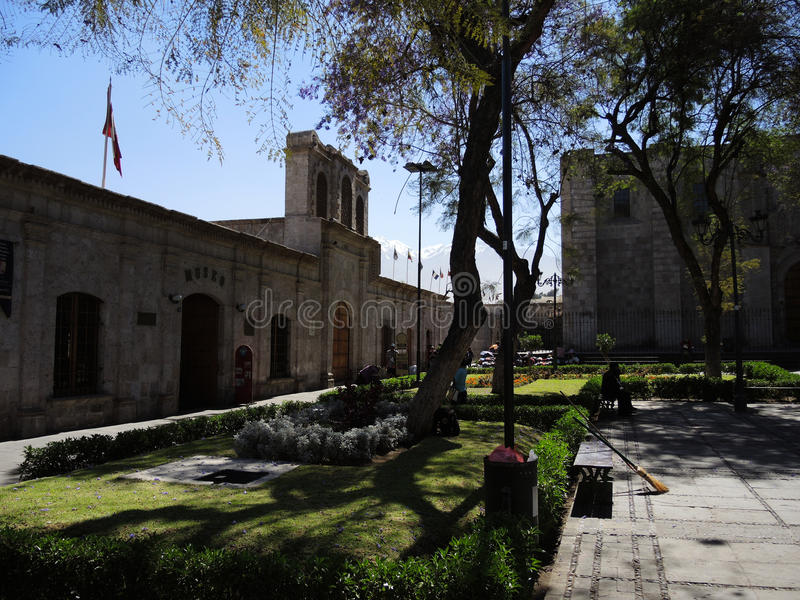 Download Vue Du Colonial Du Centre, Arequipa, Pérou Photo éditorial - Image du construction, downtown: 77160916