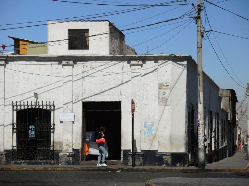 Download Vue Du Colonial Du Centre, Arequipa, Pérou Photographie éditorial - Image du bleu, peru: 77161827