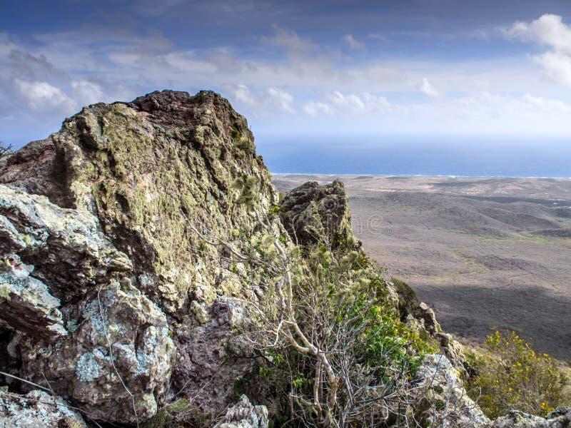 Vue du haut de Christoffel photos libres de droits
