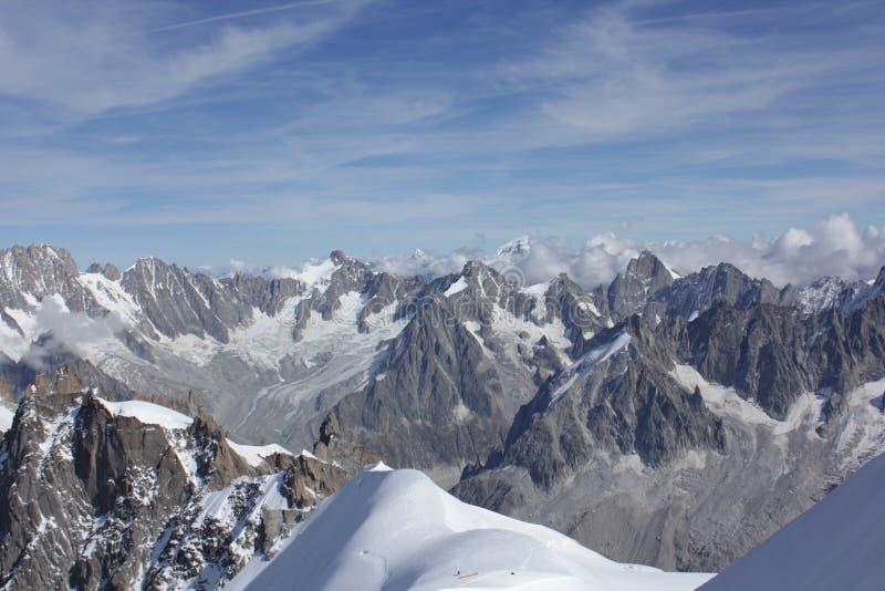 Vue du massif de Mont Balc photo libre de droits