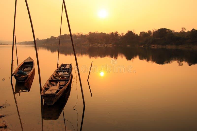 Vue du Mekong, Thaïlande photo stock