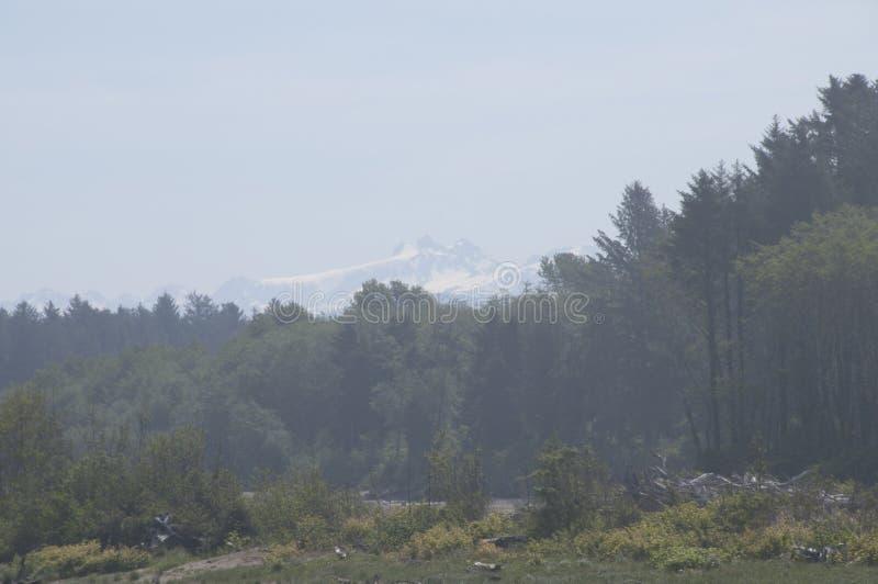 Vue du mont Olympe image stock