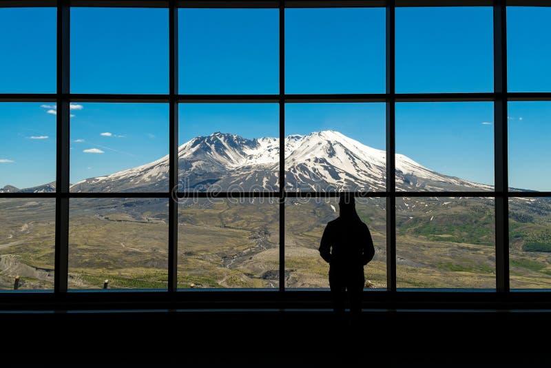 Vue du Mont Saint Helens image libre de droits