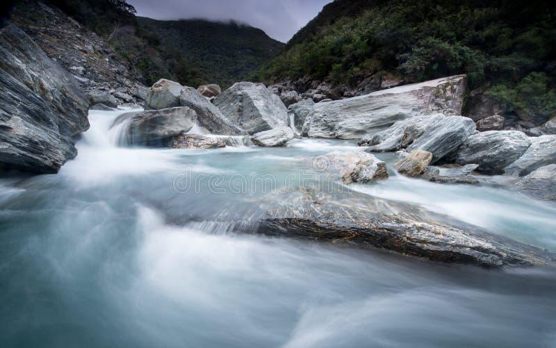Vue du Nouvelle-Zélande images libres de droits