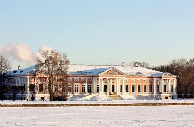 Vue du palais ducal de l'étang grand image libre de droits