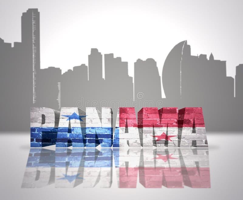 Vue du Panama illustration libre de droits
