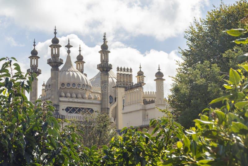 Vue du pavillon royal de Brighton photos stock
