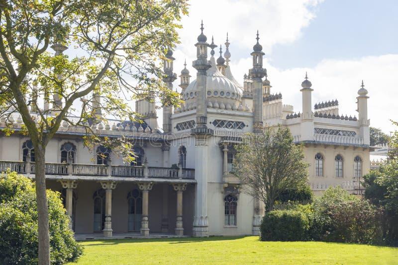 Vue du pavillon royal de Brighton photographie stock