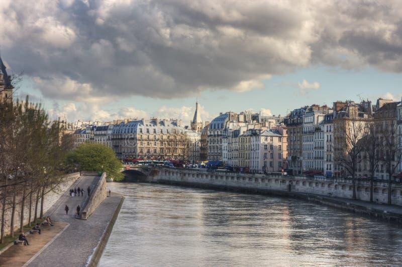 Vue du Pont Neuf image stock