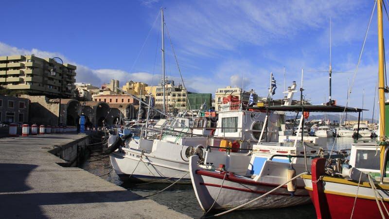 Vue du port vénitien photo stock