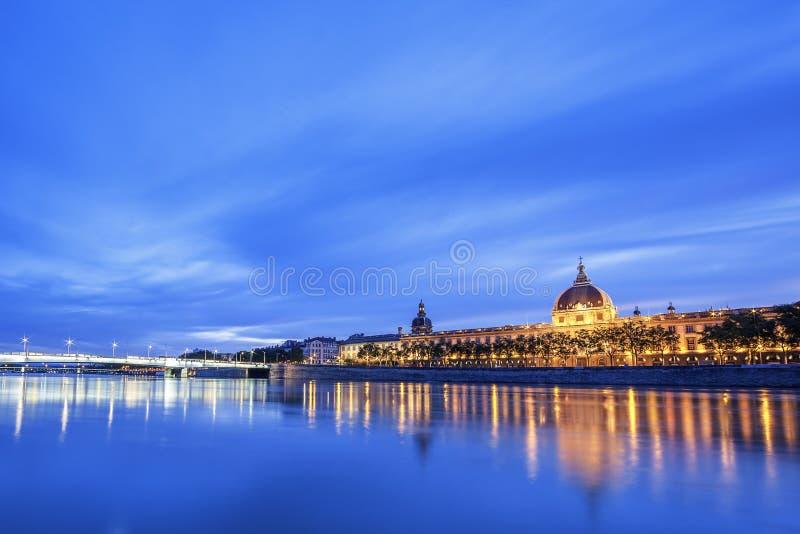 Vue du Rhône photo stock