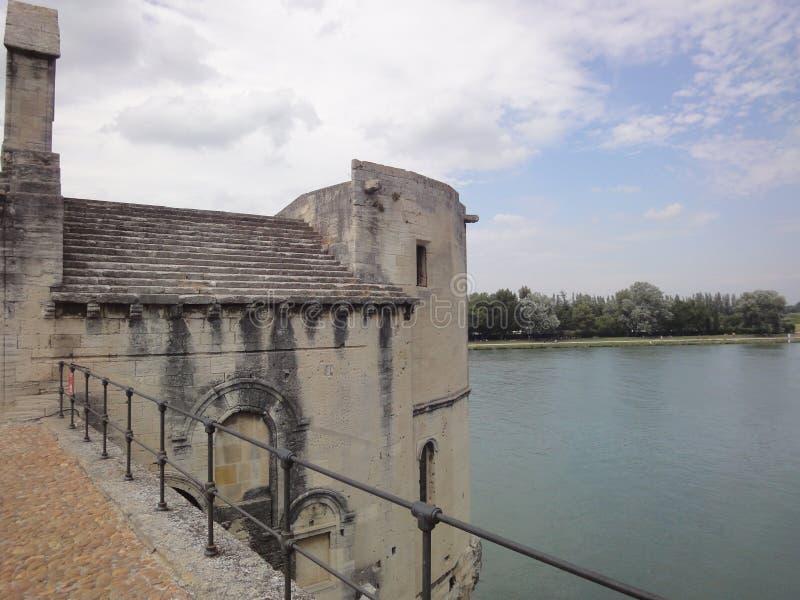 Vue du Rhône photographie stock
