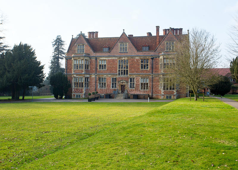 Vue est de Shaw House Newbury photo libre de droits