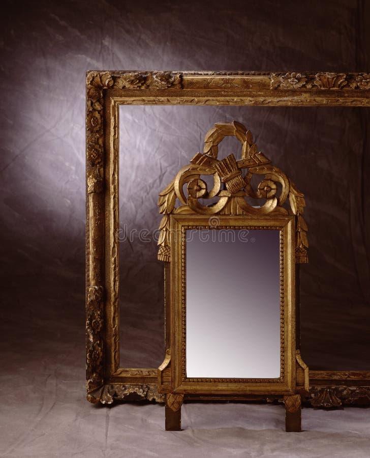 Vue et miroir image libre de droits