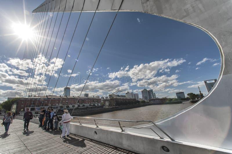 Vue extérieure dans Puerto Madero, Buenos Aires images libres de droits