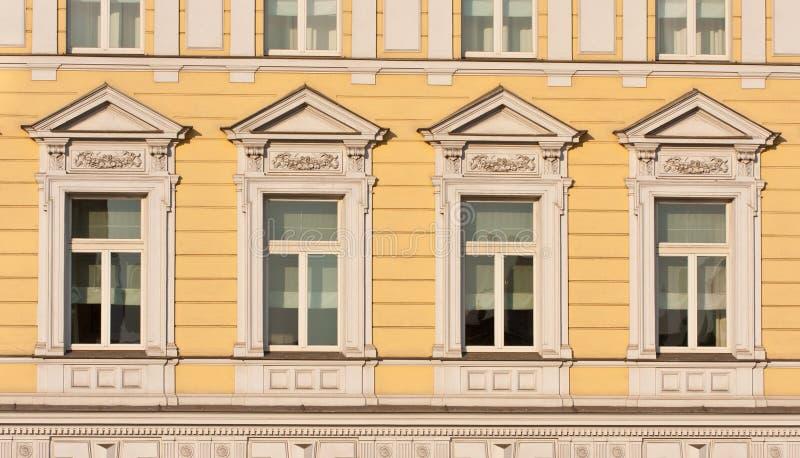 Vue extérieure de façade photo stock