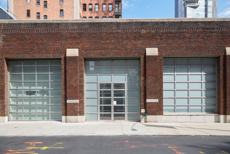 Vue extérieure de galerie de Gagosian en Chelsea, New York photos stock