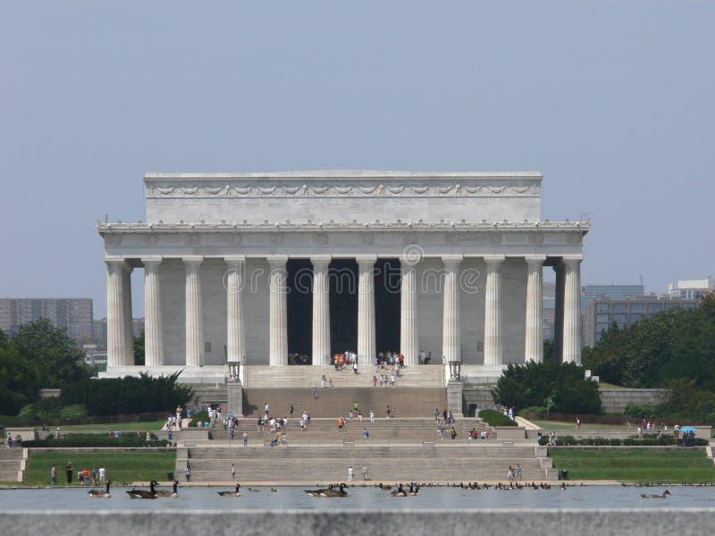 Vue extérieure de mémorial de Lincoln photo stock