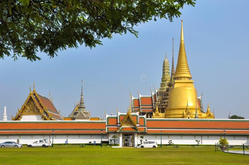 Vue extérieure de Royal Palace à Bangkok photographie stock