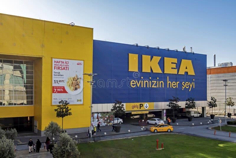 Vue extérieure du magasin ikea bayrampasa à Istanbul image stock