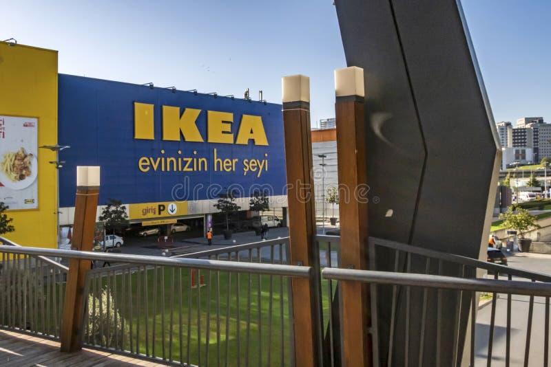 Vue extérieure du magasin ikea bayrampasa à Istanbul photo libre de droits