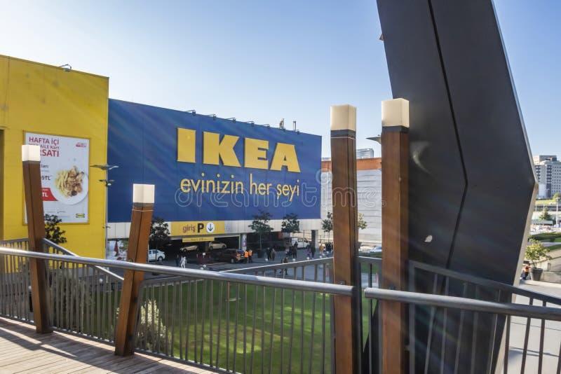 Vue extérieure du magasin ikea bayrampasa à Istanbul photo stock