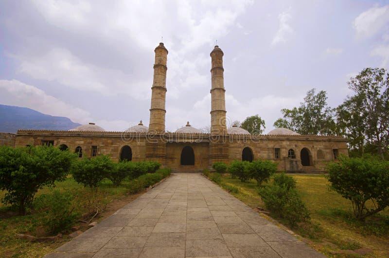 Vue externe de masjid de ki de Sahar photo libre de droits