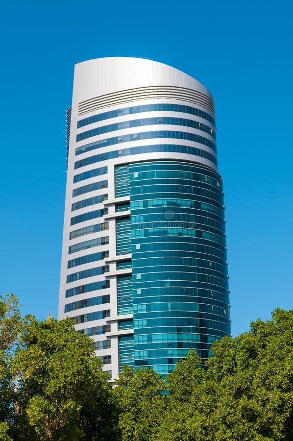 Vue générale du bâtiment moderne image stock