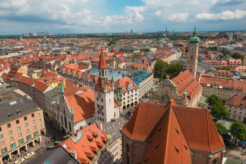 Vue gentille de Munich photo stock