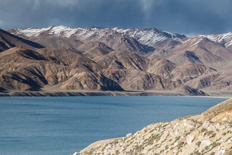 Vue gentille de Pamir dans le Tadjikistan image libre de droits