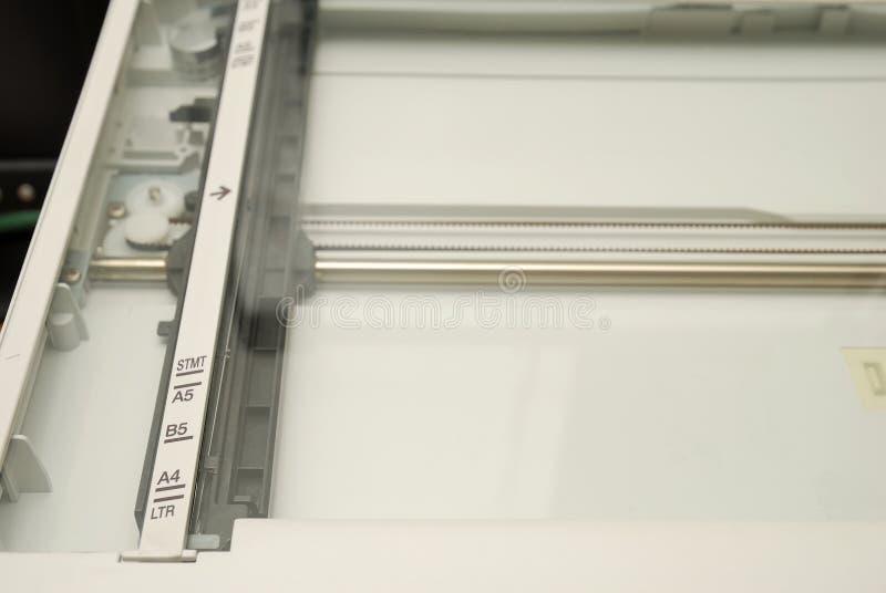 Vue intérieure de module de balayage générique images libres de droits