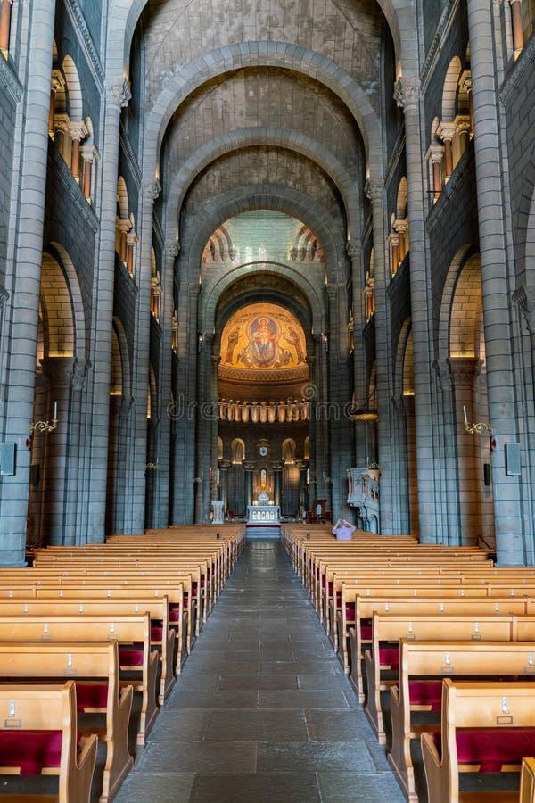 Vue intérieure du saint historique Nicholas Cathedral photo libre de droits