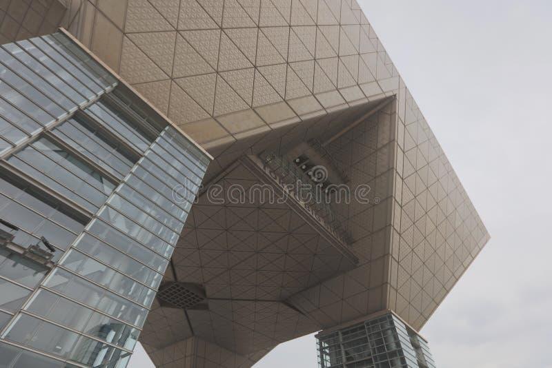 Vue internationale de Tokyo de centre d'exposition de Tokyo grande, Ariake photos libres de droits