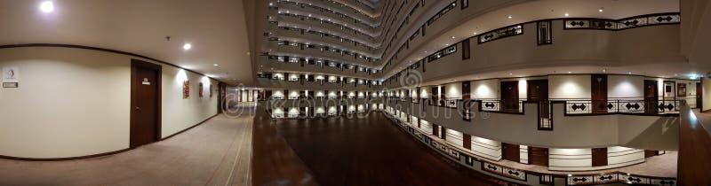Vue large d'hôtel d'Udontani image libre de droits