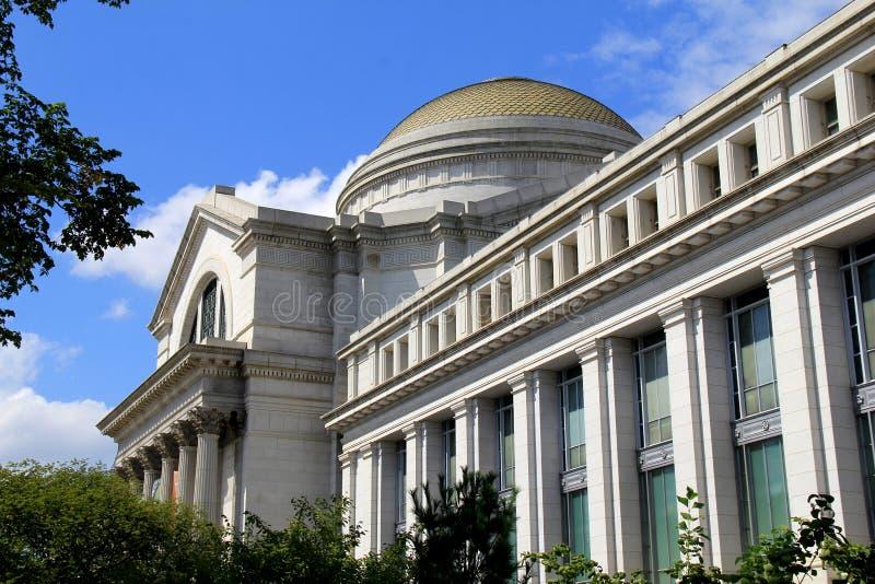 Vue magnifique de l'architecture extérieure, Musée National d'histoire naturelle, Washington, C.C, 2017 photos stock