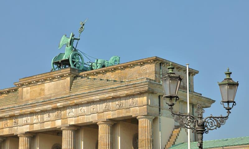 Vue occidentale de Porte de Brandebourg, Berlin, Allemagne Deutschland photos libres de droits