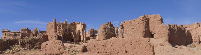 Vue panoramique au Maroc photographie stock