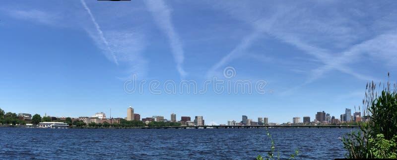 Vue panoramique Boston du centre, le Massachusetts photo libre de droits