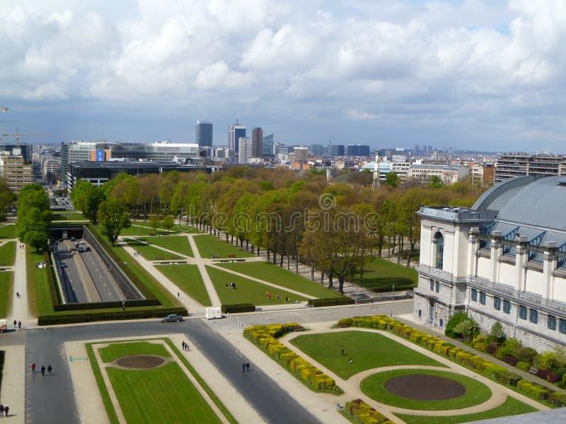 Vue panoramique Bruxelles photographie stock