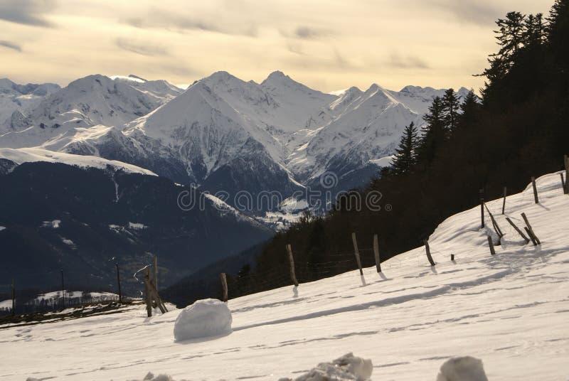Vue panoramique, côté sud images stock