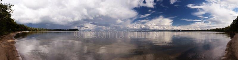 Vue panoramique dans Vaestergoetland Suède photo libre de droits