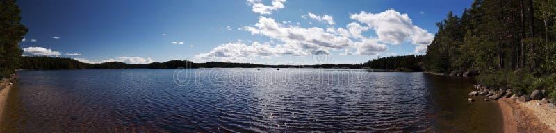 Vue panoramique dans Vaestergoetland Suède photos libres de droits