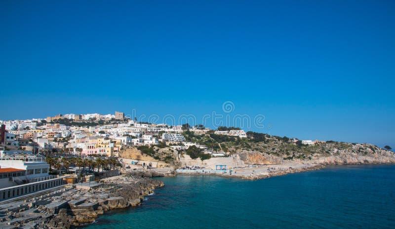 Vue panoramique de Castro, Salento, Italie image stock